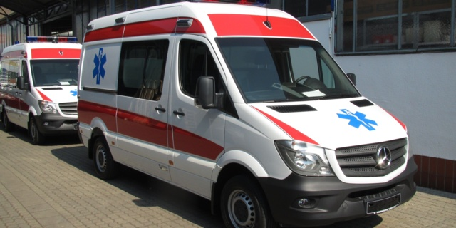 Carl Friederichs GmbH Arbeitsprobe Carl Friederichs MB-Sprinter Ambulance Export